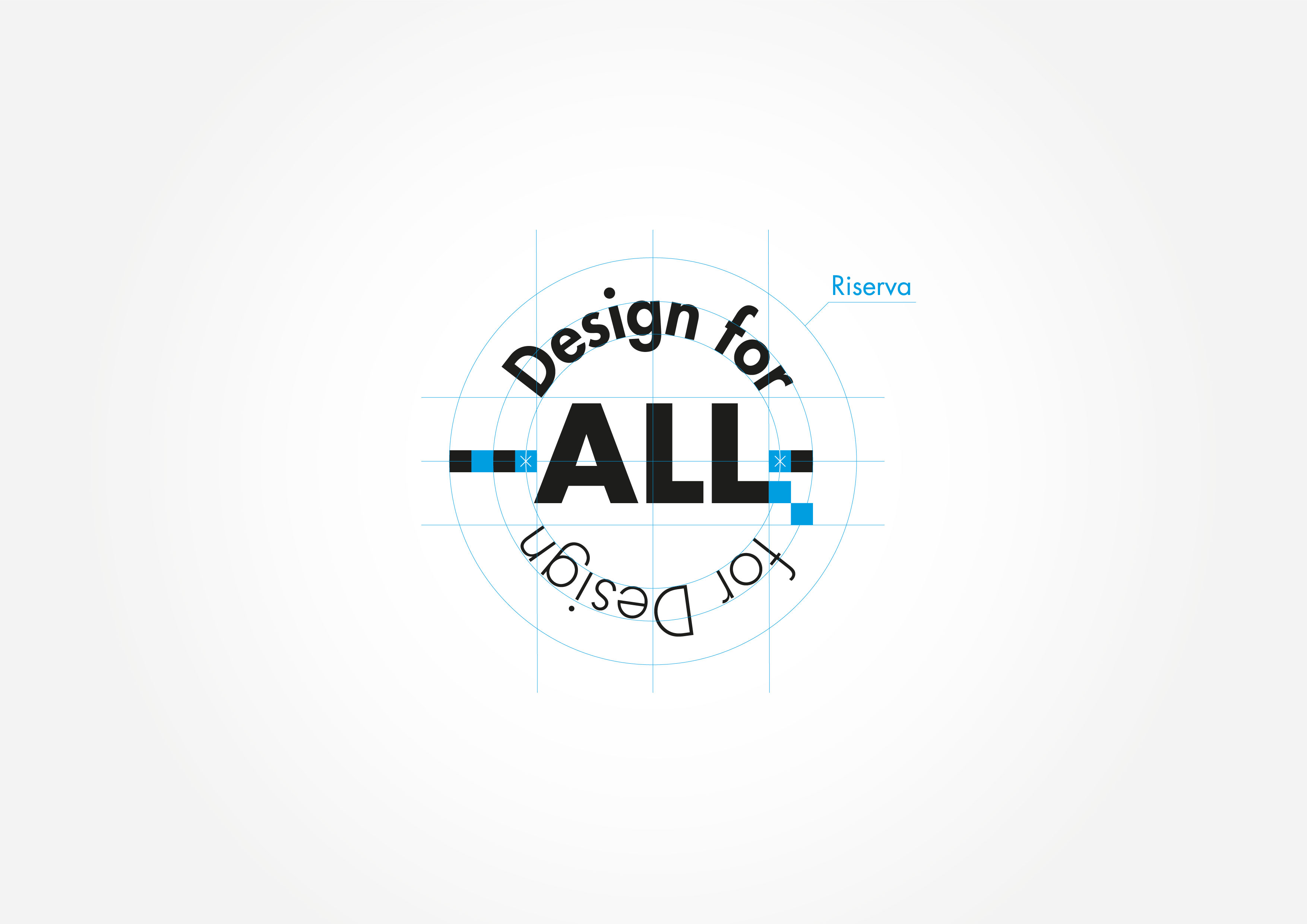 Design for All for Design - studio del logo