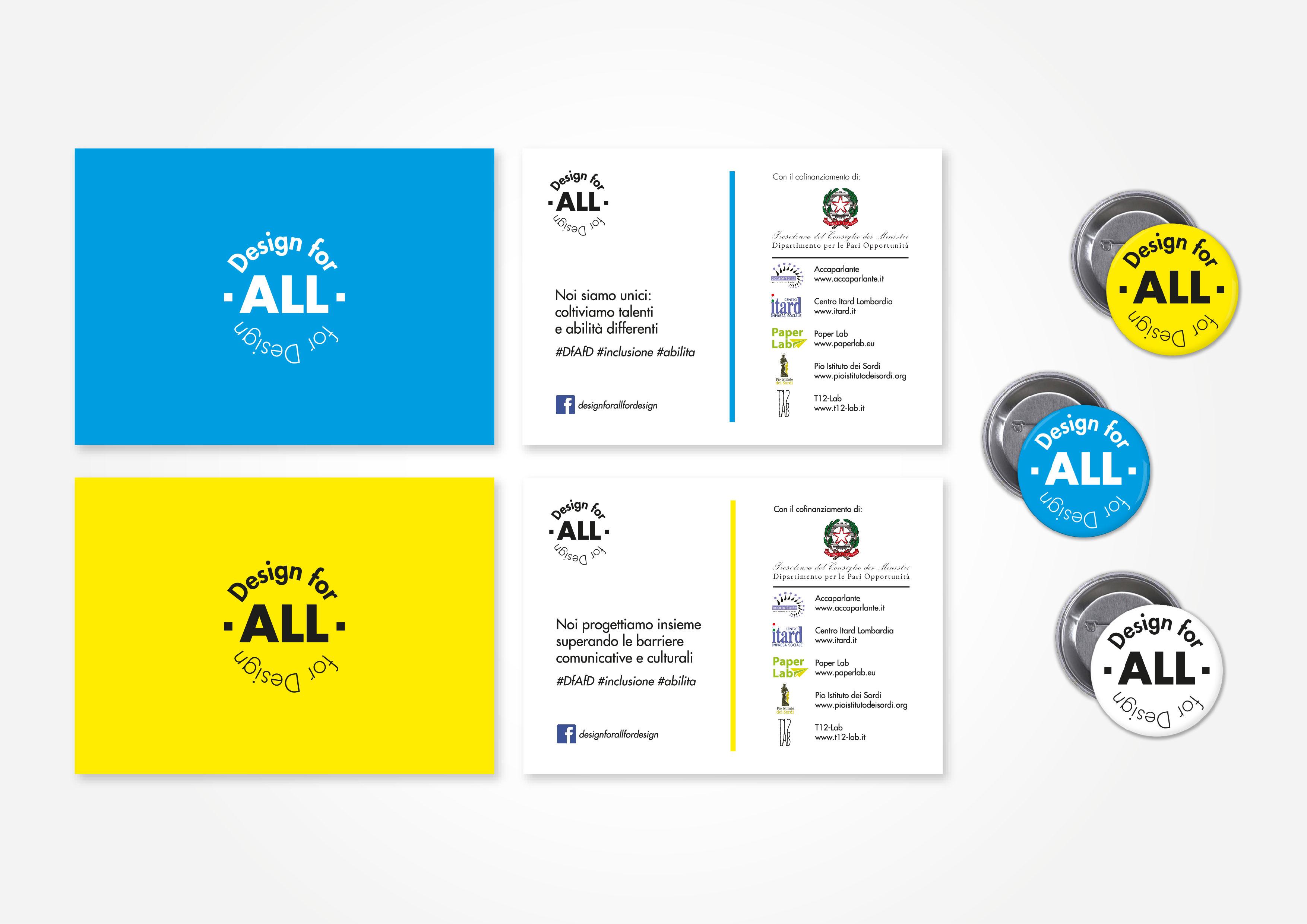 Design for All for Design - promozione